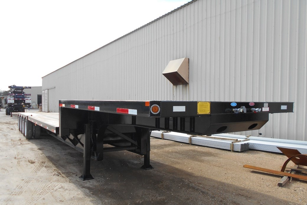 4 axles allow customers to carry heavy loads