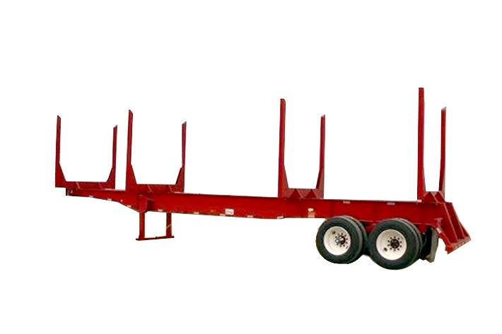 Straight Frame Log Trailer
