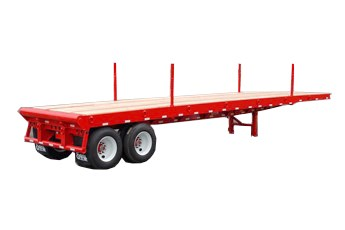 Oil field flatbed